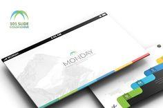 Monday Business Powerpoint by Dedijuniadi on @creativemarket