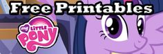 My Little Pony Free Printables