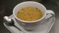 Cream of Broccoli Soup - This deceivingly indulgent, rich-tasting cream of broccoli soup is a perfect wintertime meal to keep you slim and slipping into your ski pants with room for extra layers. Enjoy the easy recipe with preparation options for the stove top or the pressure cooker. When spring arrives and asparagus is abundant, make an even swap for the broccoli and enjoy the season's bounty.