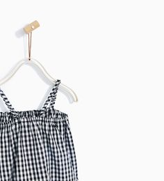 GINGHAM TOP-SHIRTS-BABY GIRL | 3 months - 4 years-KIDS | ZARA United States