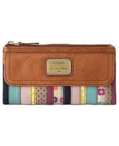Fossil Handbag, Emory Clutch - Handbags & Accessories - Macy's