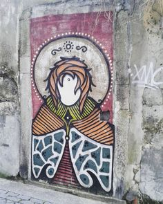 @hazul_luzah #streetart in Vitória #Porto