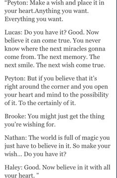 Thank you Collin for getting me inspired to pin One Tree Hill things!