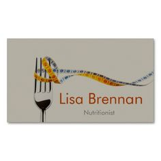 Nutritionist / Dietician / Doctor / Business Card