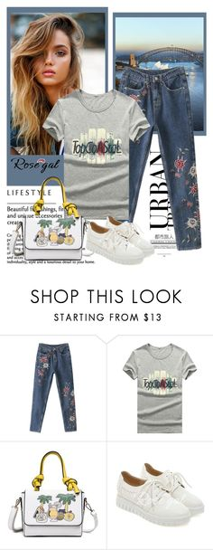 """""""Rosegal"""" by fashion-all-around ❤ liked on Polyvore featuring rosegal"""