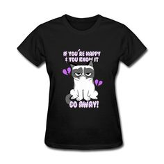 #GrumpyCatmovietshirts #GrumpyCatWomens #AdultGirlstee #2016GrumpyCatGeektshirt Grumpy Cat movie T-Shirts Grumpy Cat T-Shirt is as close to perfect as can be. because It's optimized for all types of print and will quickly become your favorite T-Shirts. Soft, comfortable and durable.1.Fabric helps keep you dry and comfortable.2.Rib crew neck with interior taping for comfort.PRODU