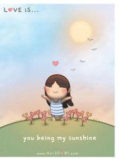 Cinta itu, seperti matahari yang menghangatkan hidup.