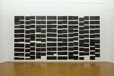 Wade Guyton, Installation view, Museum Ludwig, Cologne, 2010, photo: Maurice Cox, © Wade Guyton