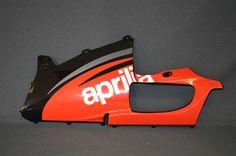 NEW GENUINE APRILIA RSV 1000 '03 LH LOWER FAIRING, AP. BLACK AP8168435 (GB) in Vehicle Parts & Accessories, Motorcycle Parts, Other Motorcycle Parts | eBay