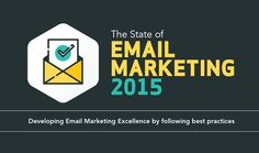 This infographic illustrates the current state of email marketing based on a major research study between Smart Insights and Get Response, in which they surveyed 1800+ email marketers from a range of business sizes and sectors around the world.