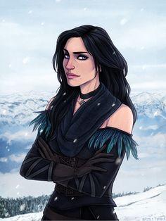 Yennefer - The Witcher 3: Wild Hunt by Naimly.deviantart.com on @DeviantArt