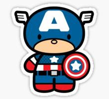 Hello Kitty Captain America Más Imprimibles GRATUTITOS en http://www.fiestuqueando.com.es