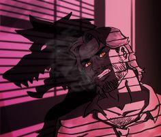Animated Man, The Wolf Among Us, Werewolf Art, Vampires And Werewolves, Mythical Creatures Art, Big Bad Wolf, Dog Teeth, Furry Art, Anime Guys
