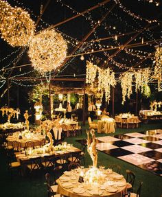 A wonderfully-lit dinner party...<3 We love it! Floral are angels rooted in soil. How we use them, can make all the difference. We are constantly finding new new architectural ways to use them creating flower laden chandeliers to sitting gazebos. The ways of using them are delightfully limitless. It's in born art with us.