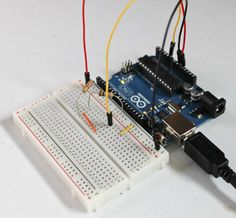 Arduino Projects 6   Circuit Control. Learn how to use a voltage divider to take measurements and turn them into digital data.