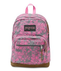JanSport Right Pack Expressions - Shady Grey Vintage Bloom