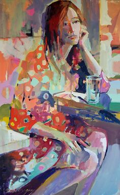 figure paintings - paintings by erin fitzhugh gregory
