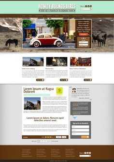 02.11.2013 | Web Page for Howdy Buenos Aires by ROde