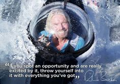 Find out what qualities entrepreneur Richard Branson possesses to be one of the most successful people. Read 12 inspiring quotes from the man himself here..