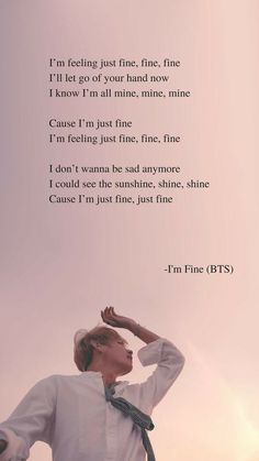 I'm Fine by BTS Lyrics wallpaper The post I'm Fine by BTS Lyrics wallpaper appeared first on Hintergrundbilder. I'm Fine by BTS Lyrics wallpaper The post I'm Fine by BTS Lyrics wallpaper appeared first on Hintergrundbilder. Bts Song Lyrics, Bts Lyrics Quotes, Bts Qoutes, Music Lyrics, Quotes Quotes, Wall Quotes, Im Fine Quotes, Pop Lyrics, Drama Quotes