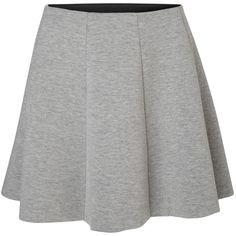 Vero Moda Short Skater Skirt (1,445 INR) ❤ liked on Polyvore featuring skirts, mini skirts, skater skirt, short skirts, elastic waist circle skirt, stretch skirts and elastic waist skirt