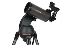 Celestron NexStar Mak Computerized Telescope (Black) This has high ratings and popularity and is a great buy in the best selling products online in Photo category in Canada. Click below to see its Availability and Price in YOUR country. Photo Equipment, Photography Equipment, Bushnell Binoculars, Telescopes For Sale, Der Computer, Thing 1, Maker, Aperture, Digital Camera