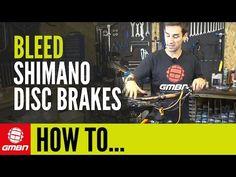 How to Bleed Shimano Disc Brakes – Mountain Bike Maintenance - YouTube