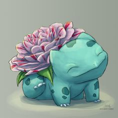 Camellia Bulbasaur is always happy to see you