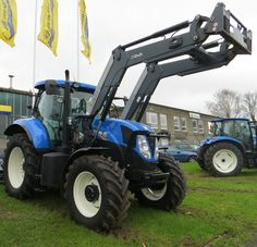 New Holland T7.185 - New Holland T7.185 - Range Command Transmission, Quicke 66…