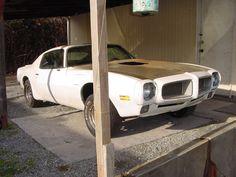 1970 Pontiac Firebird 350 From California Project Car For Sale