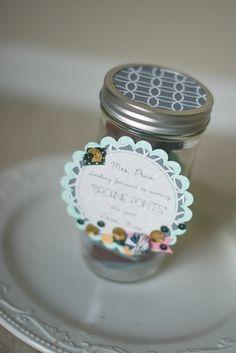 Treat Jar for the teacher! #backtoschoolideas, #backtoschool, #teresacollins, #ebosser #tcebosser #masonjar