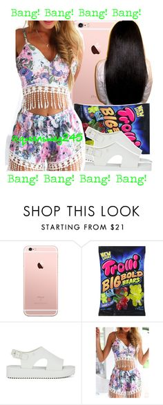 """""""Bang Bang x Trevor Jackson ft. Kevin Gates"""" by queenswag245 ❤ liked on Polyvore featuring Melissa and WithChic"""