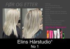 Mørkere bunnfarge ettervekst hårfarge som fades ut i blonde hårfargen