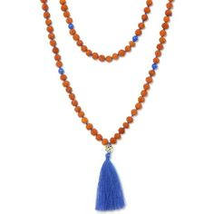 Malas rudraksha - collier long - Mala tibétain