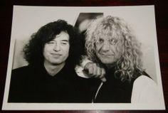 Jimmy Page & Robert Plant Photograph
