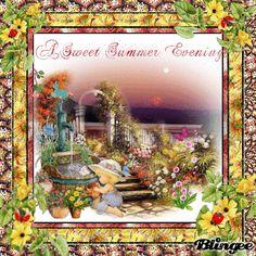 A Sweet Summer Evening