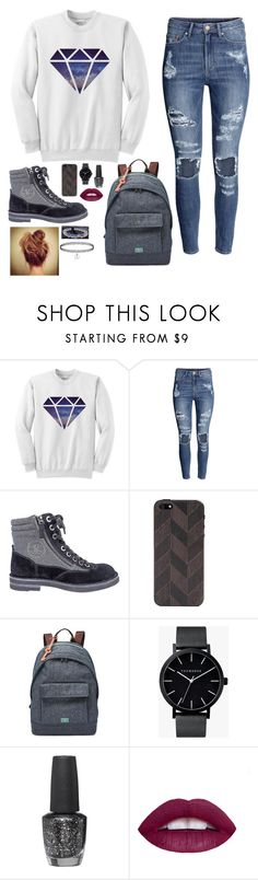 """""""Untitled #549"""" by sophia-etr ❤ liked on Polyvore featuring H&M, Chanel, Lazerwood, FOSSIL, The Horse, OPI, women's clothing, women's fashion, women and female"""