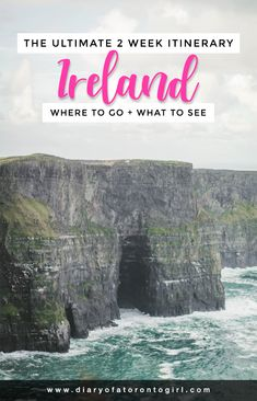How to do an ultimate road trip driving around the coast of Ireland in just 2 weeks!