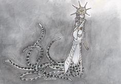 Gwyndolin   DARK SOULS #AngelZArt  #DarkSouls #Gwyndolin #Watercolor
