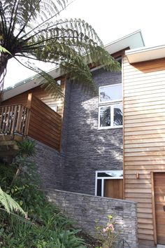 Exterior Feature Walls   Residential Projects   Hard As Rocks