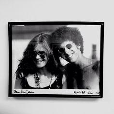 CEO Jordan Taylor with Janis Joplin at the Atlanta Pop Festival in 1969. #inspiration #1960s