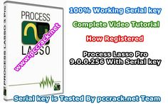 Process Lasso Pro 9.0.0.256 Serial key of the technology of the new unique to this possibility for you to answer rate for stability and computer increase. via @pccrack