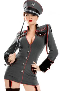 Trashy.com - Lingerie - panties - hosiery - swimsuit models - sexy lingerie - General Perversion Coat Dress