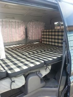 My Delica bed