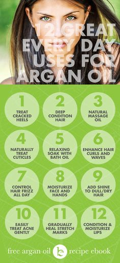 Organic Argan Oil, so many benefits for hair and skin with a one ingredient product.  MUST BUY.