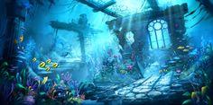 underwater background illustration - Google Search