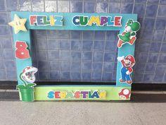 Mario Bros, Baby Shower, Selfie, Frame, Home Decor, Christening, Baby Sprinkle Shower, Homemade Home Decor, Babyshower
