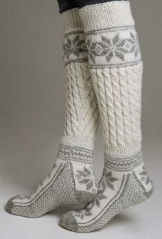 Осень — пора вязать теплые носочки - Ярмарка Мастеров - ручная работа, handmade