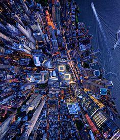 Travel News - Lensaloft_LonelyPlanet_NewYork911MemorialSite Manhattan New York, Lower Manhattan, New York From Above, City From Above, Urban Photography, Aerial Photography, Landscape Photography, New York Photographie, Places In Berlin