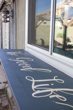 Outdoor Folding Bar Shelf
